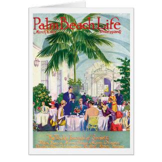 Tarjeta de nota de la vida 16 del Palm Beach