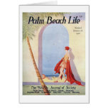 Tarjeta de nota de la vida #18 del Palm Beach