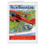 Tarjeta de nota de la vida #1 del Palm Beach