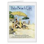 Tarjeta de nota de la vida #3 del Palm Beach