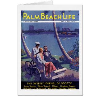 Tarjeta de nota de la vida #4 del Palm Beach