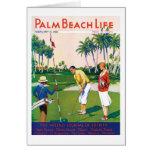 Tarjeta de nota de la vida #5 del Palm Beach