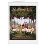 Tarjeta de nota de la vida #7 del Palm Beach