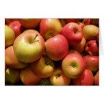 Tarjeta de nota de las manzanas de Pennsylvania