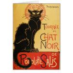 Tarjeta de nota de Le Chat Noir