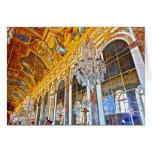 Tarjeta de nota de París que ofrece el palacio de