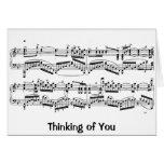 Tarjeta de nota de Rachmaninoff