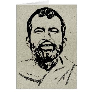 Tarjeta de nota de Sri Ramakrishna