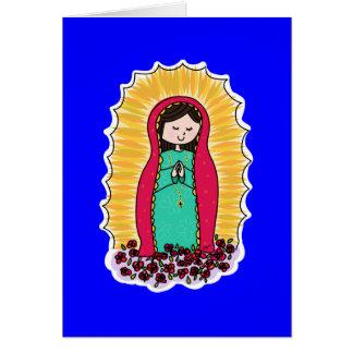 Tarjeta de nota de Virgen De Guadalupe