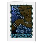Tarjeta de nota de Yemaya