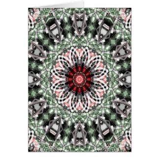 Tarjeta de nota del arte 1277 del fractal