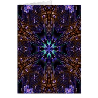 Tarjeta de nota del arte 1282 del fractal