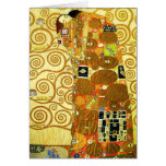 Tarjeta de nota del cumplimiento de Gustavo Klimt
