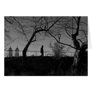 Tarjeta de nota del depósito del Central Park