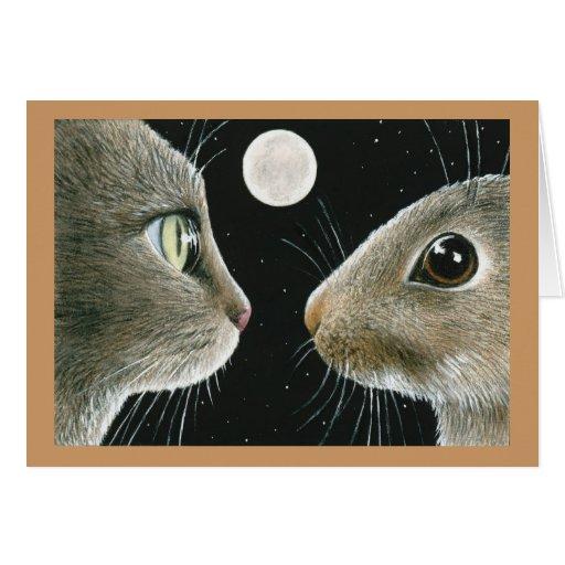 tarjeta de nota del gato 413