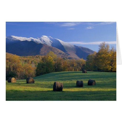 Tarjeta de nota del Mt Mansfield Vermont