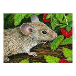 Tarjeta de nota del ratón #10