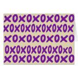"""tarjeta de nota del """"xoxo"""""""