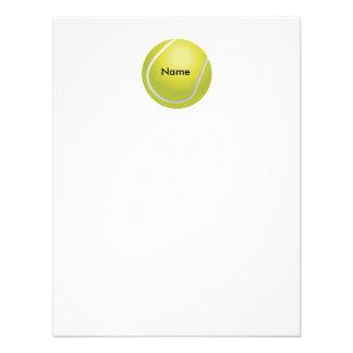 Tarjeta de nota plana personalizada de la pelota d invitación personalizada