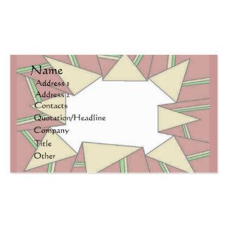 Tarjeta de papel de embalaje tarjetas de visita
