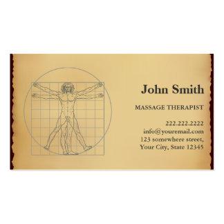 Tarjeta de papel de la cita del terapeuta del tarjetas de visita