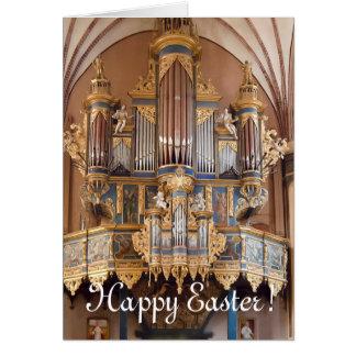 Tarjeta de pascua - catedral de Frombork
