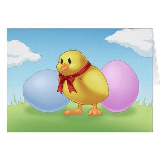 Tarjeta de Pascua Chickie