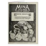 Tarjeta de pascua chistosa del estudio 1915 de la