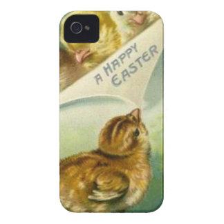 Tarjeta de pascua de los polluelos de Pascua del iPhone 4 Cobertura