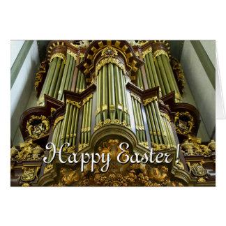 Tarjeta de pascua del órgano del Gouda