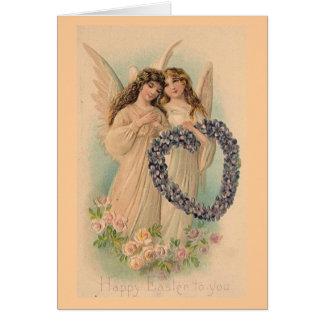 Tarjeta de pascua del Victorian