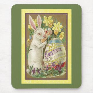 Tarjeta de pascua del vintage (23) tapetes de ratones