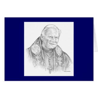"""Tarjeta de Paul McGehee """"Juan Pablo II"""""""