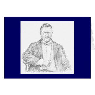 """Tarjeta de Paul McGehee """"Theodore Roosevelt"""""""