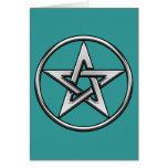 Tarjeta de plata del Pentagram 2