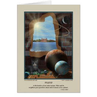 Tarjeta de Plutón