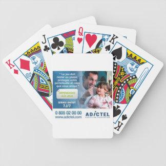Tarjeta de póquer Adictel Barajas De Cartas
