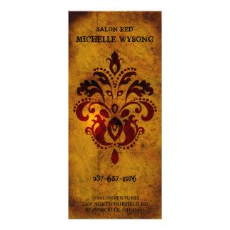 Tarjeta de precio moderna exclusiva con clase del  tarjeta publicitaria a todo color