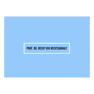 Tarjeta de presentación Azul clara Plantillas De Tarjetas Personales
