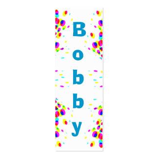 Tarjeta de presentación del fiesta de la diversión tarjetas de visita mini