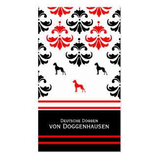 Tarjeta de presentación Dogge Tarjetas De Visita