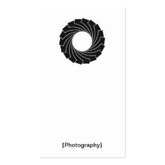 """Tarjeta de presentación """"Photography """" Tarjetas De Visita"""