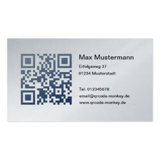 Tarjeta de presentación, platin (individualmente g plantilla de tarjeta de negocio