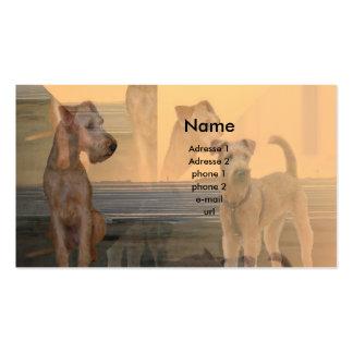 "Tarjeta de presentación ""Terrier Irlandesa "" Tarjetas De Visita"