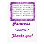 Tarjeta de princesa Mini Hearts Thank You
