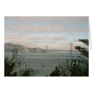 Tarjeta de puente Golden Gate
