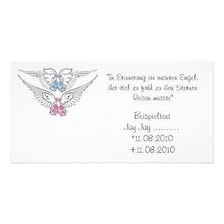 Tarjeta de recuerdo tarjeta con foto personalizada