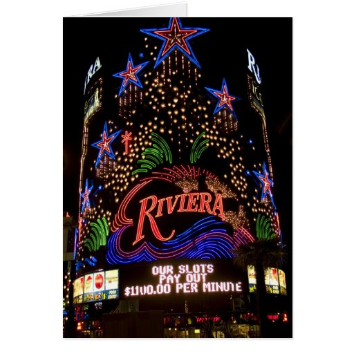 Tarjeta de Riviera Las Vegas