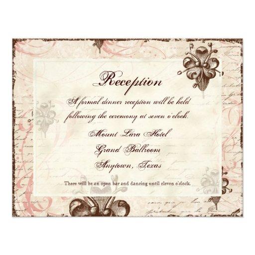 Tarjeta de RSVP de la respuesta del boda del remol Anuncio Personalizado