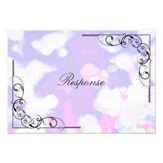 Tarjeta de RSVP de la respuesta del boda - remolin Anuncio Personalizado